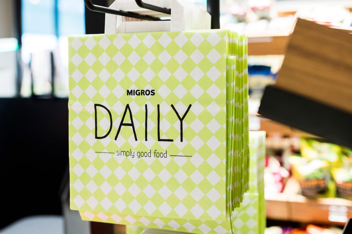 Brand Packaging Design Migros Daily Allink