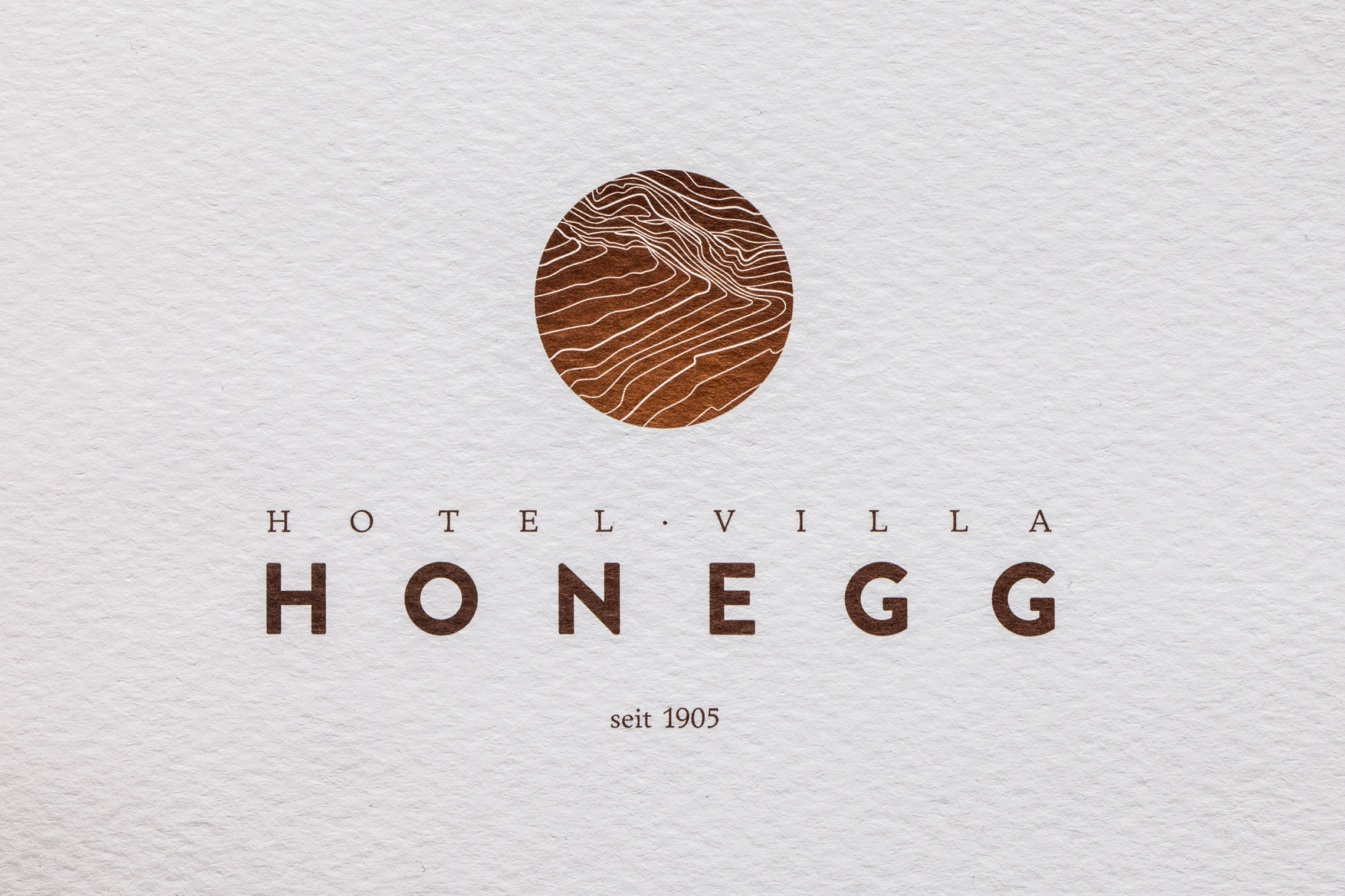 Corporate Identity Hotel Villa Honegg