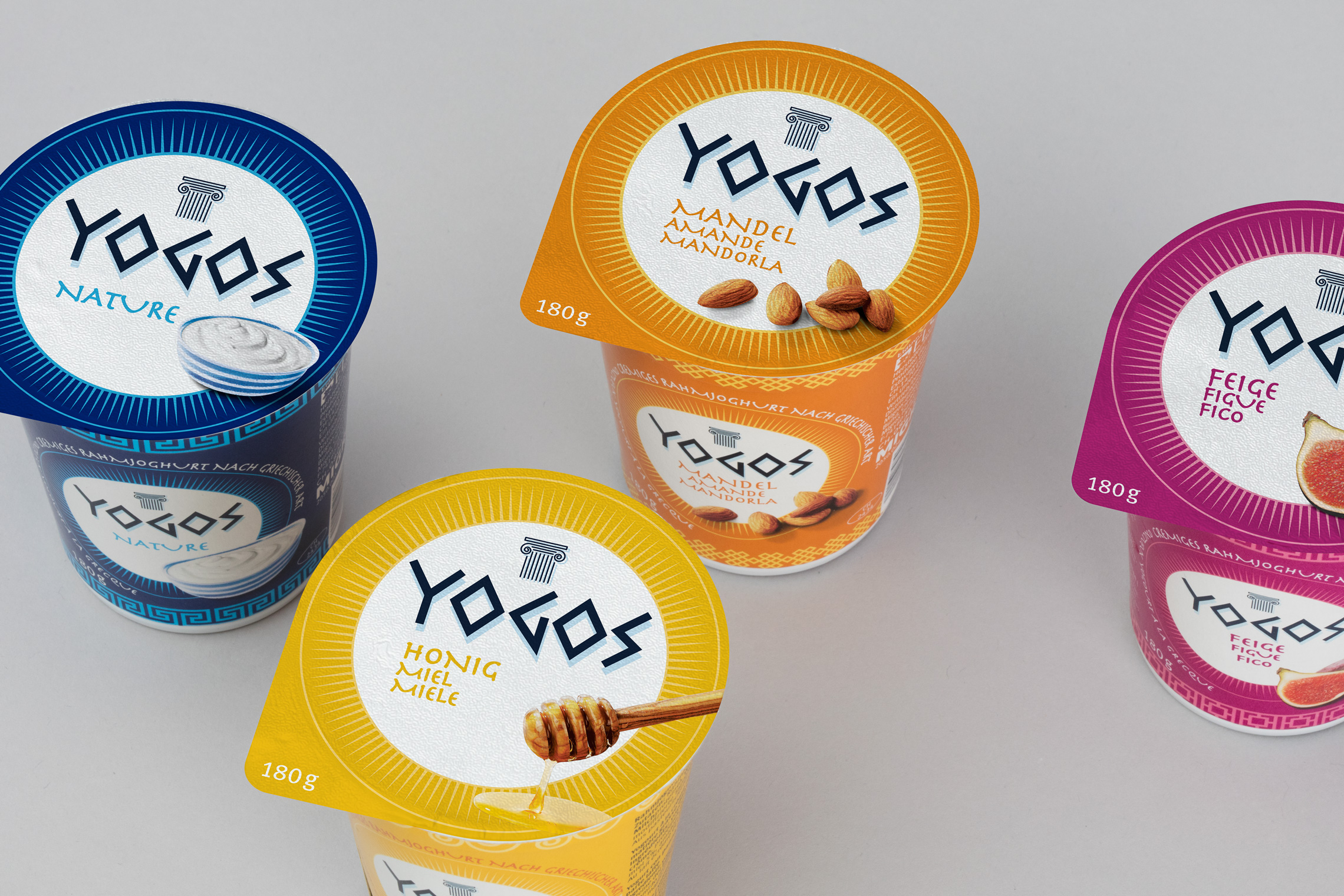 Migros Yogos Packaging Design